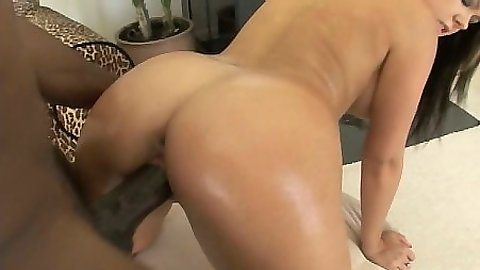 Big black cock sex with Julia Bond getting filled by nice dick