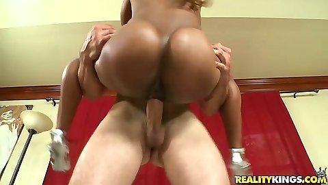 big ass black girl white dick