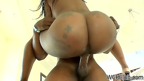 In the air fuck with big ass ebony Gogo Fukme and reverse cowgirl to follow