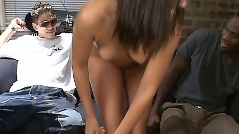 Brunette Katarina Campbell enjoys a nice big cock