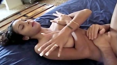 Ebony Dee blowjob and riding cock