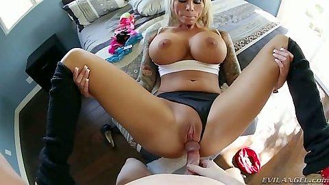 German ebony pornstar