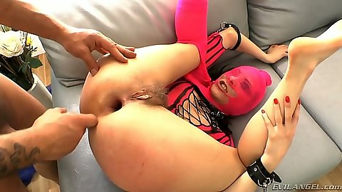 Gaping fetish anal fuck with stretched out Brenda Hally