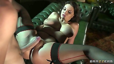 Hardcore big natural tits entry and cowgirl riding with Emma Leigh