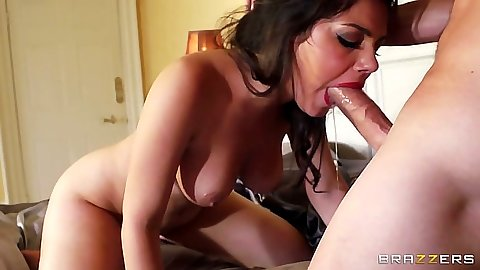 Brunette rough blowjob and hardcore penetration for school for whores Valentina Nappi