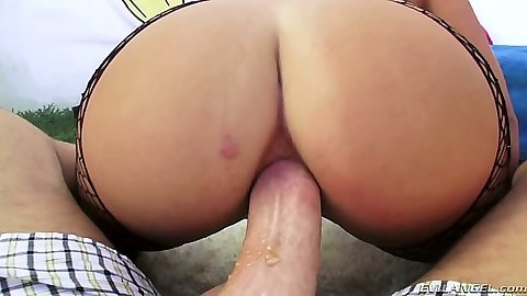 Laela Pryce anal whore gets anus gaped alot