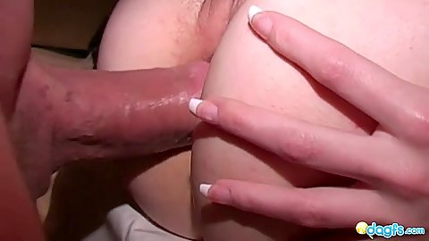 Anal gf fuck with popping her anal cherry on camera looks a bit painful methinks
