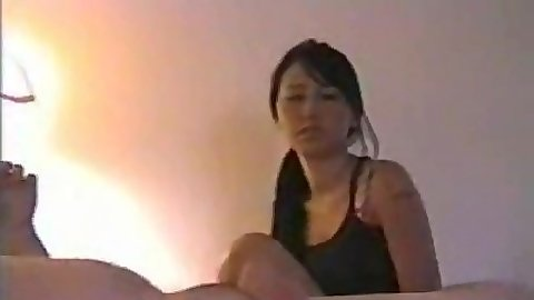 Asian handjob tube