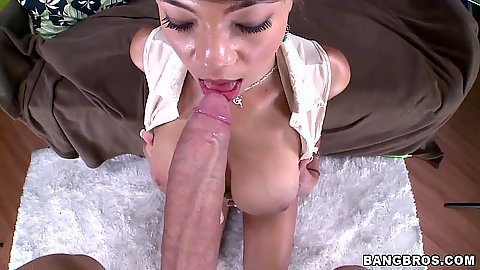 Big dick looks like a nice fit for this busty amateur Cassidy