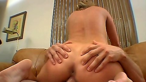 Cowgirl slamming on cock slut Brianna Beach