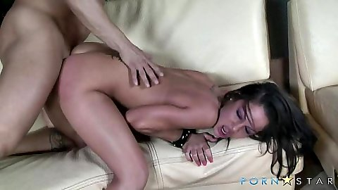Juicy Angelina Valentine getting rough sex from behind