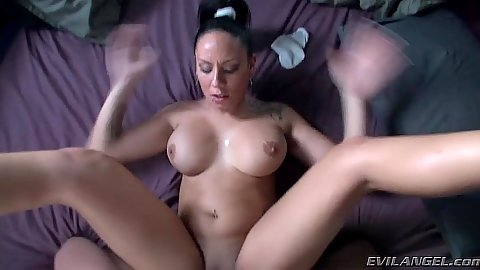 Big boobs latina Marta Sanz pov sex and blowjob