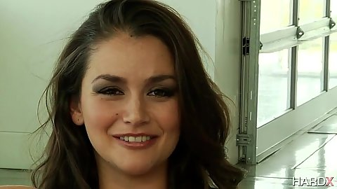 Allie Haze looking sex wearing her cute butt plug