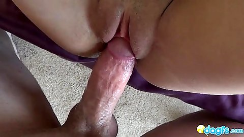 Pov close up sex with Presley Dawson and her puffy pussy