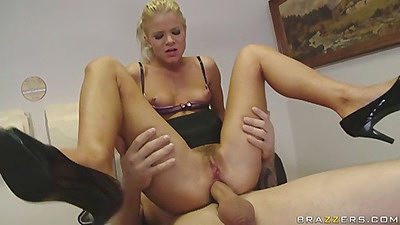 Chick riding cock and moaning