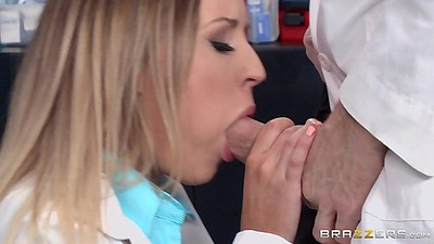 Luscious doctor blowjob with Payton West views:871