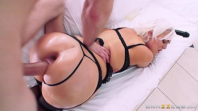 Raunchy pussy sex with already gaped anus after pussy to ass and ass to mouth Jenna Ivory views:1126
