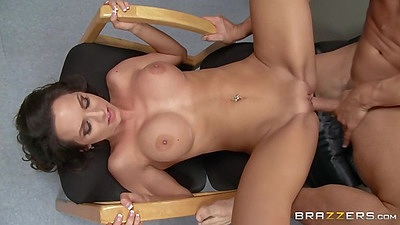 Fucking on porn audition office table from great Ashley Sinclair views:1241