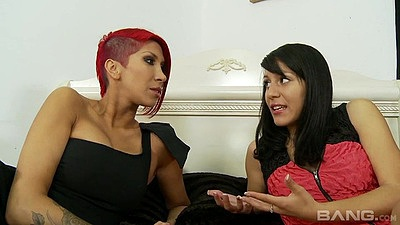 Sex toy latina and her friend also do suck Liv Aguilera and Kayla Carrera views:214