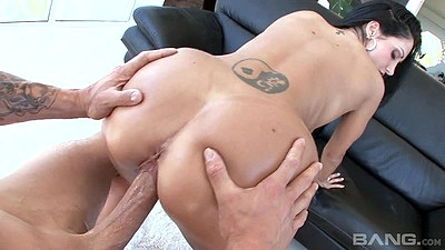Holding milf ass Ava Addams in doggy style rear entry fuck views:813