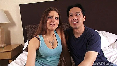 Eager amateur couple Rochelle Ryder making home video views:402