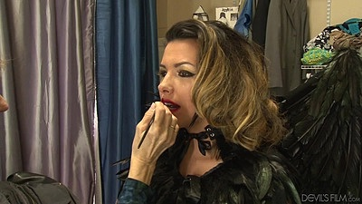 Make up room behind the scenes video wtih Danica Dillon views:476