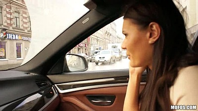 College girl Kitana Lure having a drive with us views:475