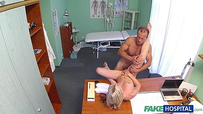 Petite girl fucked by doctor on hidden cam views:671