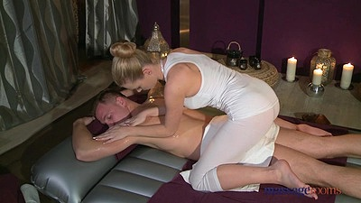 On fire Sofia giving a very nice oil massage to Matt views:1570