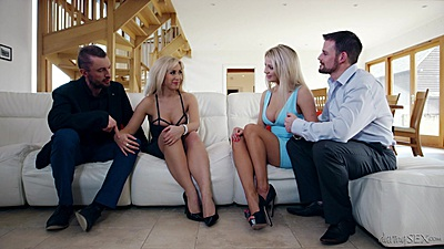 Fully clothed milf Karlie Simon having some wife confessions views:664