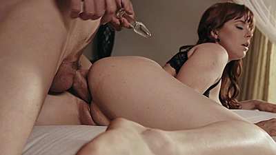 Anal from behind with redhead submission scene Emma Marx views:2491