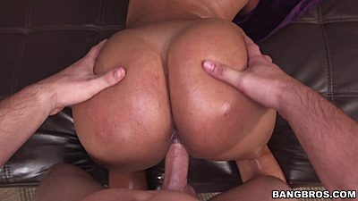 Round big butt latina Sofia Char penetrated bent over views:851