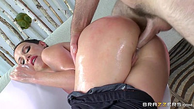 Lusty anal thrusting from behind with nice butt Nikki Benz views:1445
