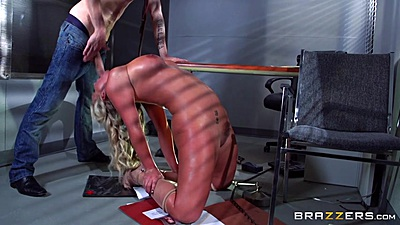 Job interview fucking and reverse blowjob from kinky milf Phoenix Marie views:465