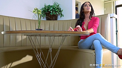 Brandy Aniston fully clothed in tight pants gets roughed up views:1353