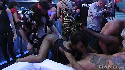Doggy fuck and blowjob with slut shared during amateur reality party views:830
