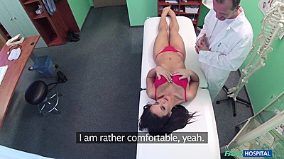 Doctor is asking his female patient to remove bras and panties views:3510