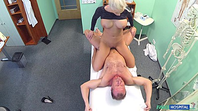 Sex craved milf is fucking the crap out of doctor views:1184