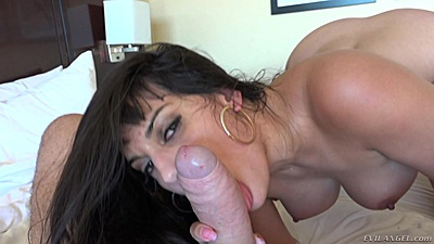Temping blowjob with busty latina milf Mercedes Carrera in pov views:432