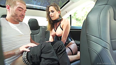 Back seat fetish humping with dirty slave Ashley Adams views:386