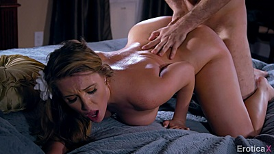 Harley Jade in intense doggy banging in bed views:1094