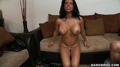 Latina slut is hungry to get on that cock finally
