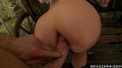 Big wet butt from Madison Anal fucked doggy style