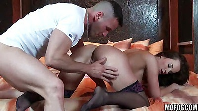 hardcore cock riding babe with wet pussy and big tits