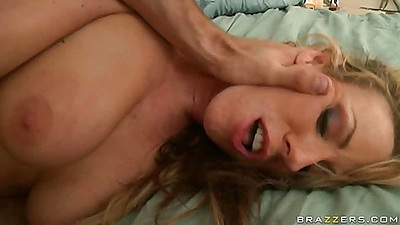 Torture and forced fucking pornstar Carolyn on her back views:6418