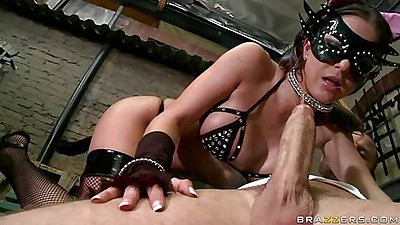 Whipping and spaking Rachel and she sucks it