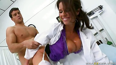 Doctor sucks off poor patient