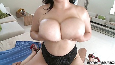 Beverly Paige cowgirl fucking with big tits