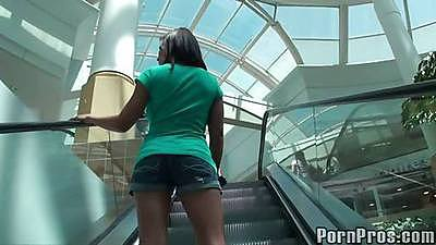 Public violations of a Madison Ivy in the mall