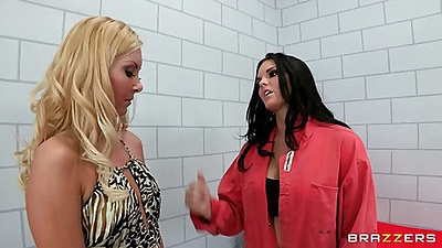 Hot and mean Aaliyah Love is thrown into prison